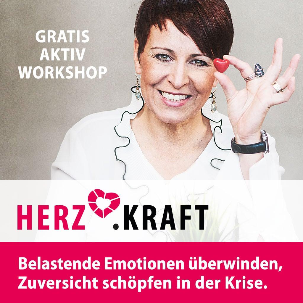 HERZ.KRAFT: gratis live Workshop von Alexandra Bilko-Pflaugner